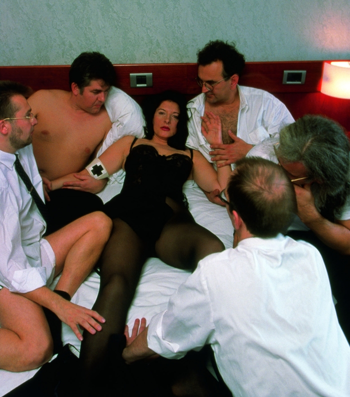 IRWIN Namepickers In collaborazione con Marina Abramović, 1999 Photo Bojan Brecelj Courtesy Galerija Gregor Podnar