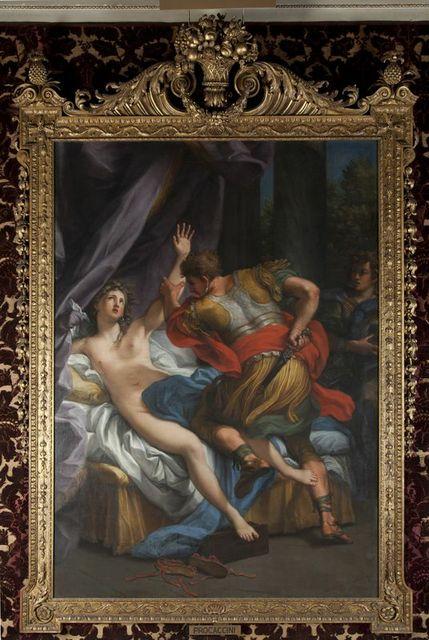 15.A. Procaccini Tarquinio e Lucrezia XVIII secolo Olio su tela Norfolk, Holkham Hall
