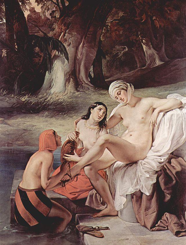 Betsabea al bagno (1834)