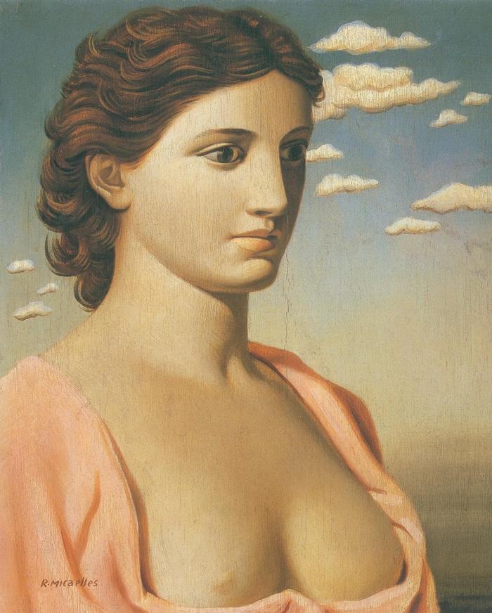 Ruggero Alfredo Michahelles: Giunone Italica, 1938, olio su compensato, cm 40,8 x 33