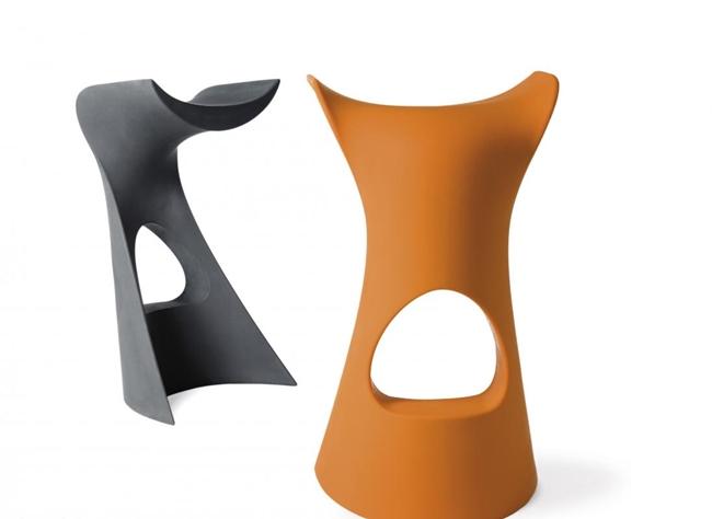 Karim Rashid Koncord, sedia Slide Polyethylene, 73x42x36cm
