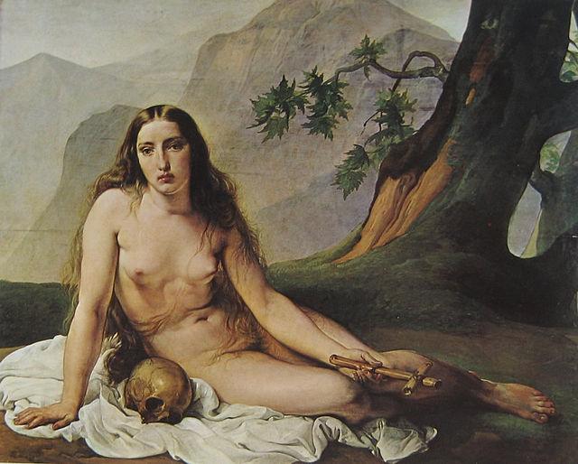 La Maddalena penitente. (1825) Civica Galleria d'Arte Moderna, Milano