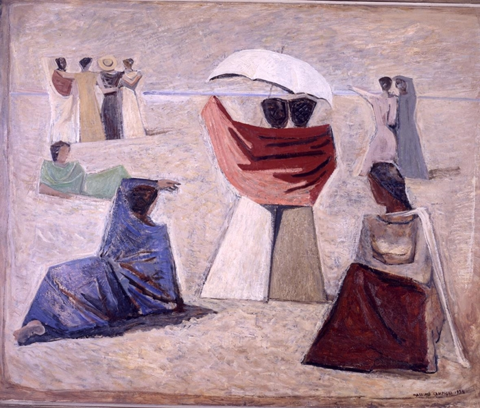 Massimo Campigli, Le spose dei marinai, 1934