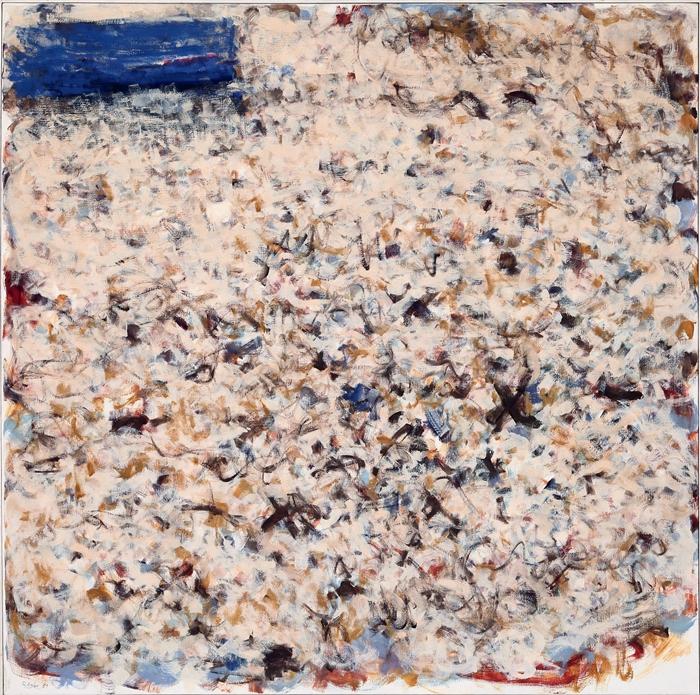 Michael Roegler, P 8, 1981, 125x125 cm