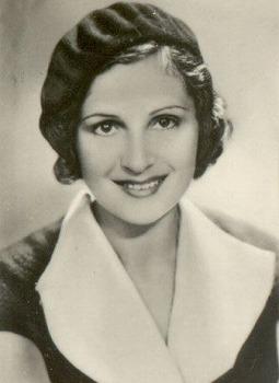 L'attrice Nora Gregor in una fotografia del 1932