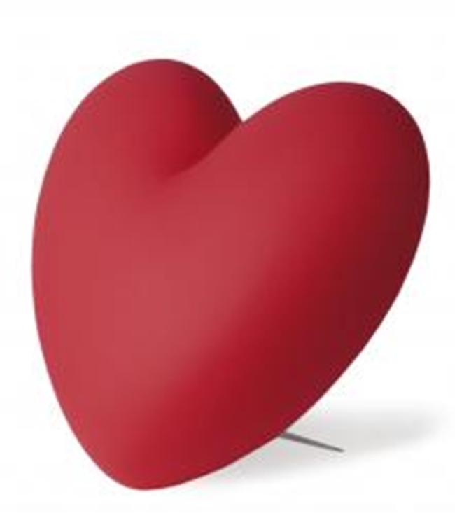 Stefano Giovannoni Love, lampada Slide Polyethylene, steel, 40x40x20cm