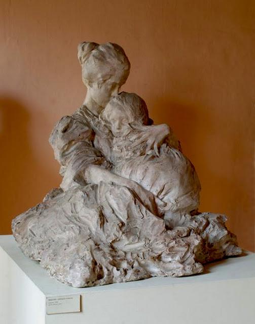 Troubetzkoy, Abbraccio materno 1898[1]