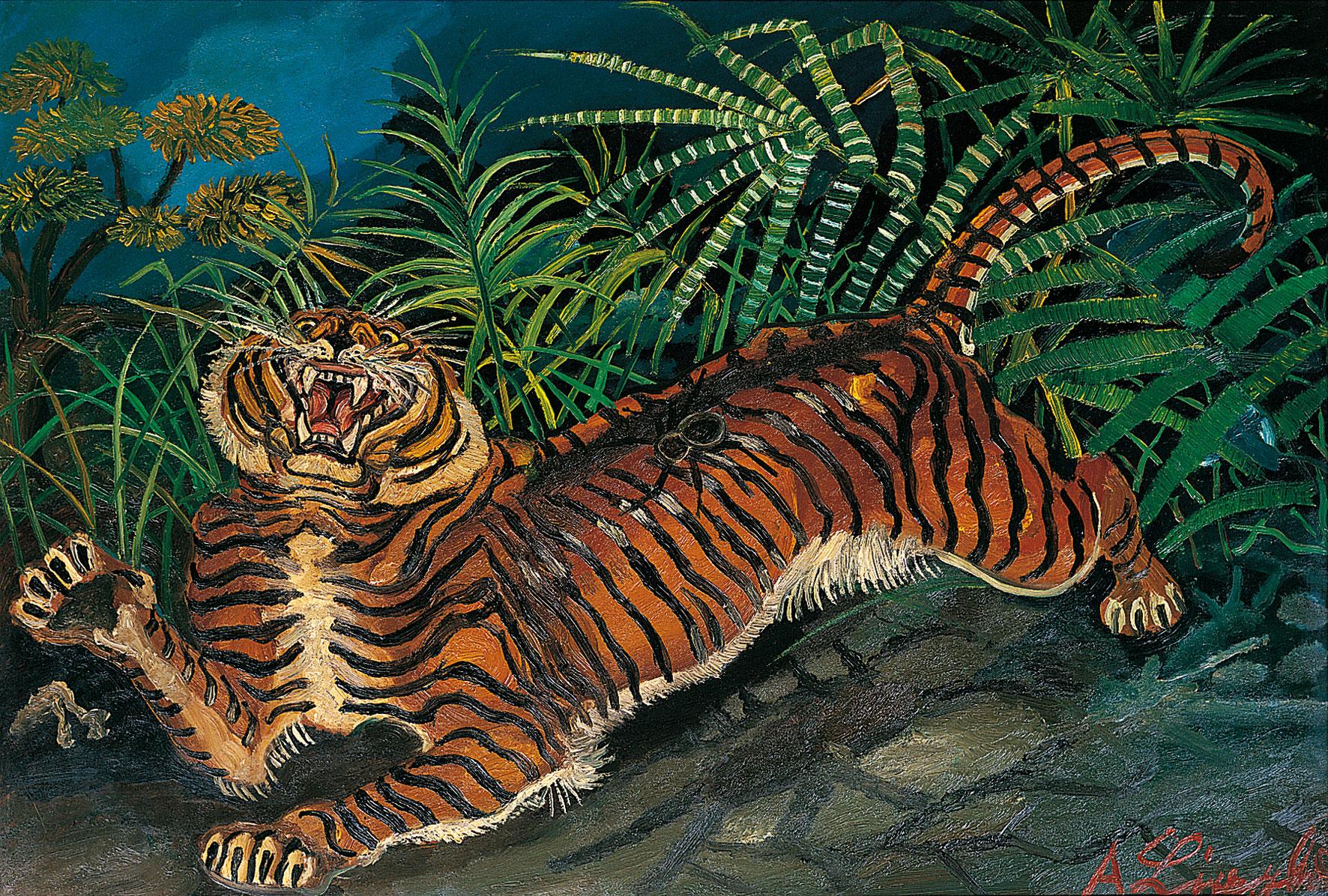 Risultato immagine per foto dipinti ligabue