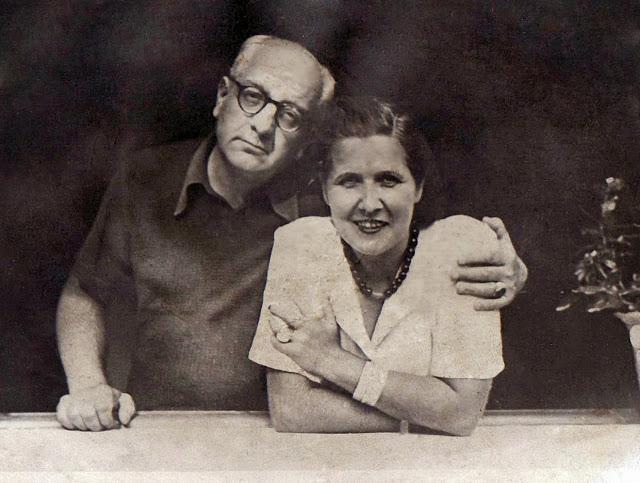Alberto Savinio con la moglie Maria Morino