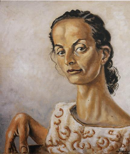 Alberto Savinio, Ritratto di Gioietta, 1951