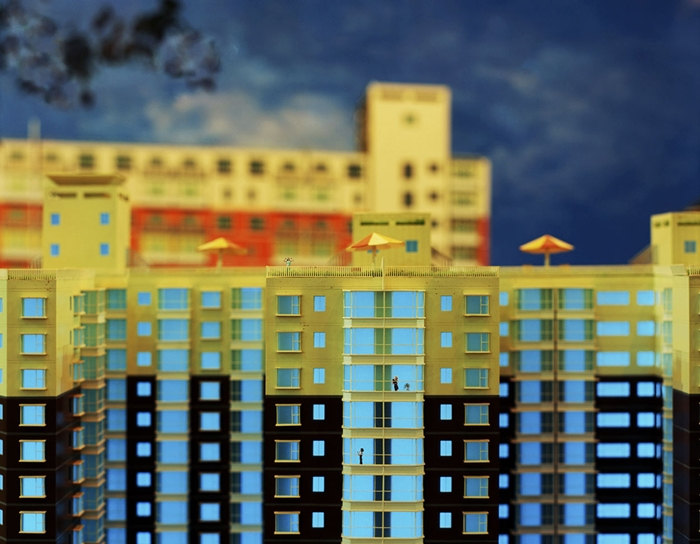 Xing Danwen, Urban Fiction #19, 2006 Courtesy l'artista e Officine dell'Immagine, Milano