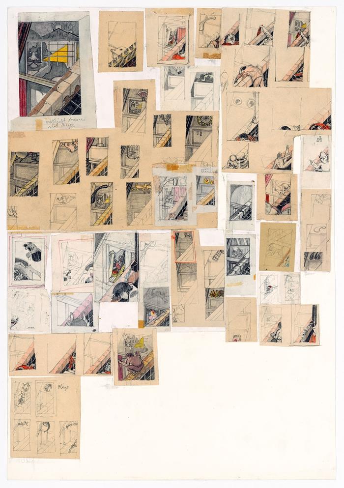 Hans Knapp, Hieronymus im Gehäuse (S. Girolamo nello studio), 1970 - 1980