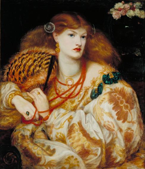 Dante Gabriel Rossetti (1828‐82), Monna Vanna, 1866 Olio su tela, cm 88,9 x 86,4 Acquistato nel 1916 attraverso l'Art Fund il sostegno di Sir Arthur Du Cross e di Sir Otto Beit - ©Tate, London 2014