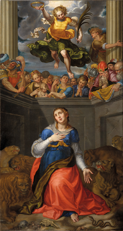 AurelioLuini MartiriodiSantaTecla 1592 tela,cm343,45x179,1 Milano,Duomo,sagrestiacapitolare ©VenerandaFabbricadelDuomo