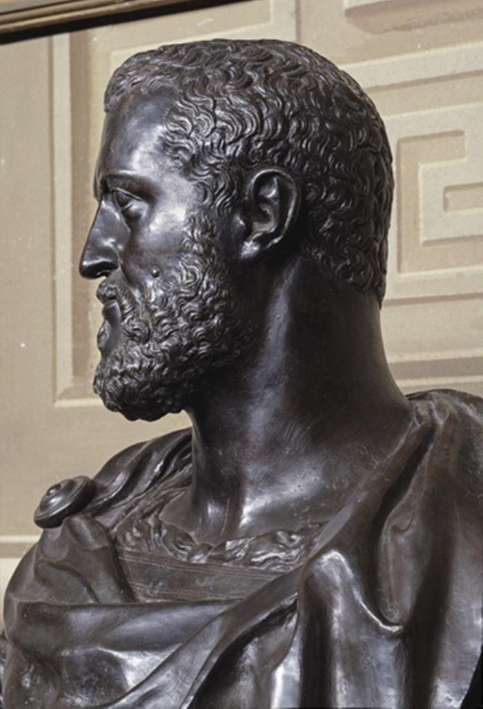 Baccio Bandinelli, Ritratto di Cosimo de' Medici, Bronzo. Firenze, Galleria Palatina