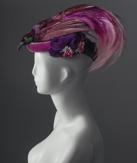 Cappello 1940 circa provenienza: donna Franca Florio; acquisizione: dono Cassa di Risparmio di Firenze