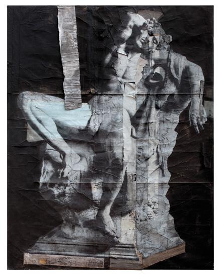 Luca Pignatelli (Milano 1962) Sculture \ 8788, 2013 Tecnica mista su carta intelata  Firenze, cortesia Galleria Poggiali e Forcon