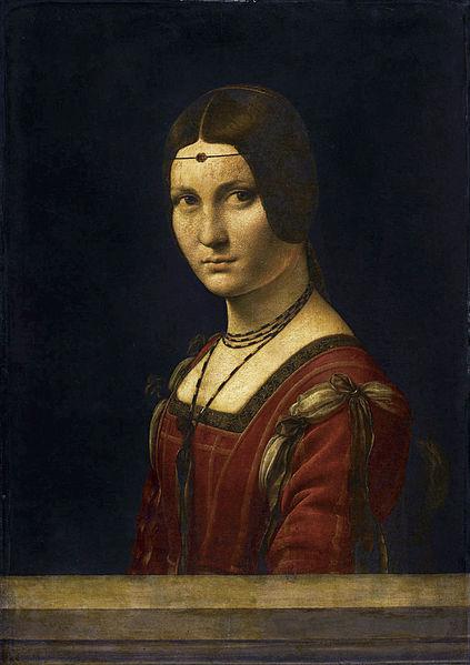 Il Ritratto di dama (noto anche tradizionalmente come Belle Ferronnière) è un dipinto a olio su tavola (63x45 cm) di Leonardo da Vinci, databile al 1490-1495 circa e conservato nel Musée du Louvre di Parigi.