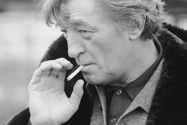 Robert Mitchum  Olanda / The Netherlands, 1986  55 x 73,1 cm  © Terry O'Neill