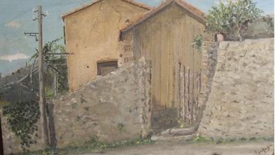 La prima opera nota: 1946, 47x30, Senza titolo