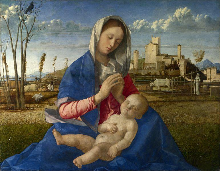 La Madonna del Prato è un dipinto a olio su tavola trasportata su tela (67,3x86,4 cm) di Giovanni Bellini, databile al 1505 circa e conservato nella National Gallery di Londra.
