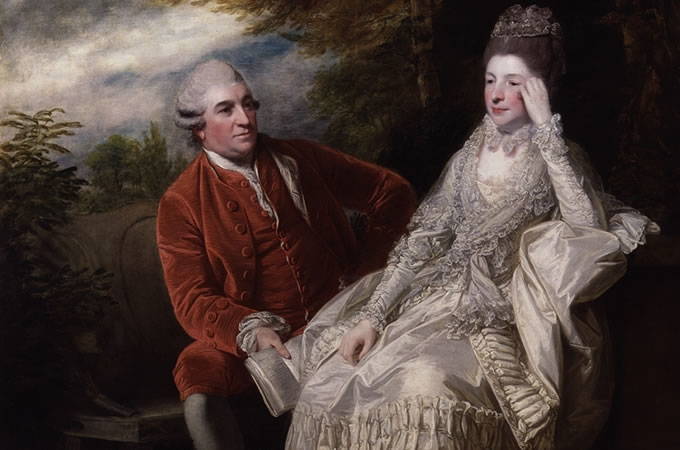 REYNOLDS - David Garrick and Eva Maria Garrick, 1772 - 1773