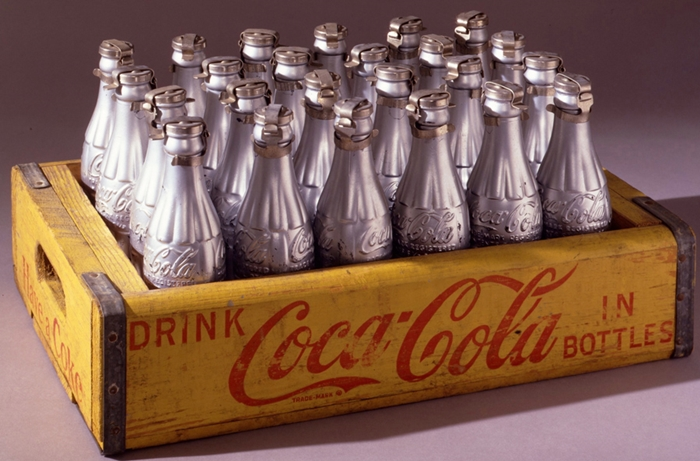 Silver Coke Bottles // 1967 // Courtesy The Brant Foundation, Greenwich, CT, USA // © The Andy Warhol Foundation for the Visual Arts Inc. by SIAE 2014