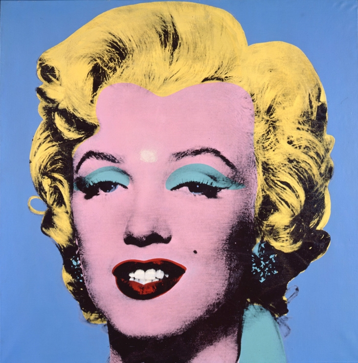 Shot Light Blue Marilyn // 1964 // Courtesy The Brant Foundation, Greenwich, CT, USA // © The Andy Warhol Foundation for the Visual Arts Inc. by SIAE 2014