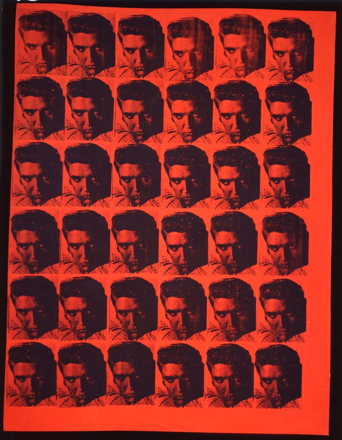 Red Elvis // 1962 // Courtesy The Brant Foundation, Greenwich, CT, USA // © The Andy Warhol Foundation for the Visual Arts Inc. by SIAE 2014