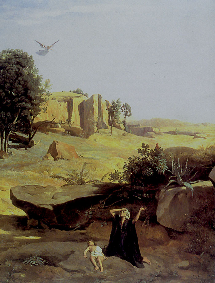 Camille Corot, Agar nel deserto