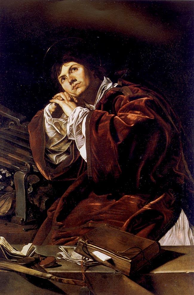 Cecco del Caravaggio, San Lorenzo