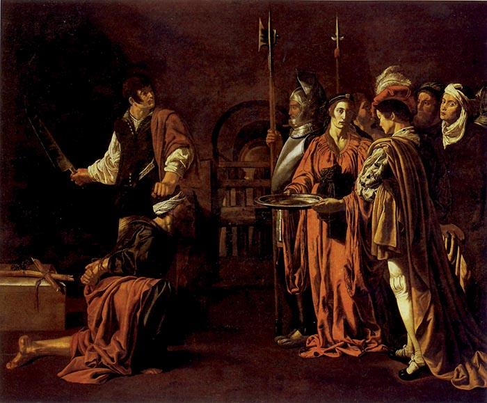 Cecco del Caravaggio, Decollazione del Battista