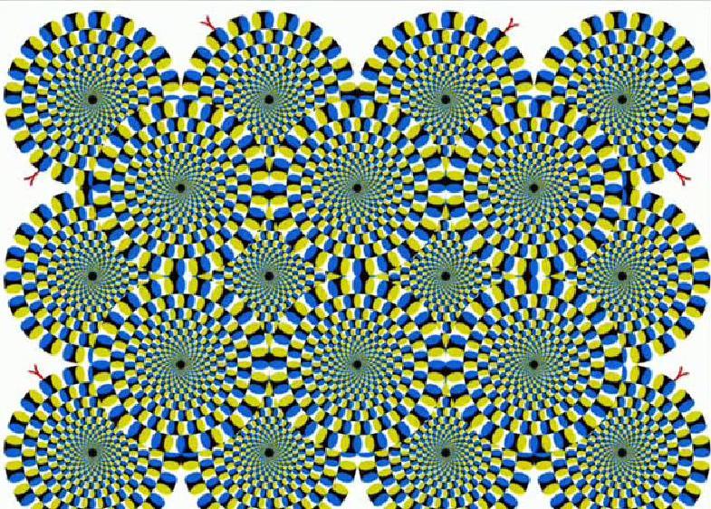 Divertirsi Con Le Illusioni Ottiche Del Disegno O Dei Dipinti