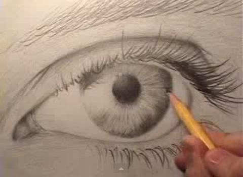 Come Disegnare Un Occhio Realistico In Pochi Passi Guarda Il Video