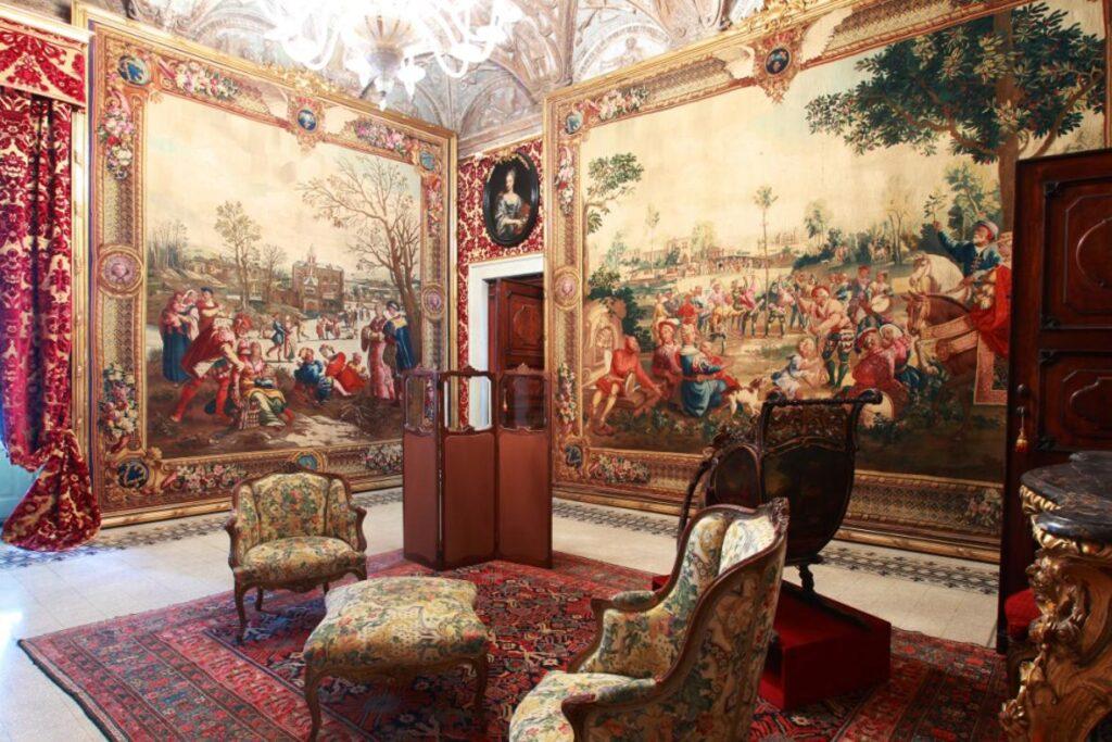 Villa del Principe, appartamenti privati