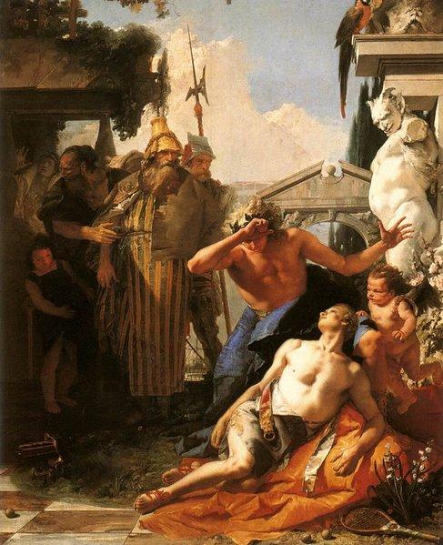 L'Apollo e Giacinto di Giambattista Tiepolo