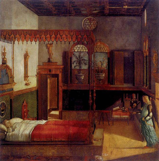 Vittore Carpaccio, Il sogno di sant'Orsola