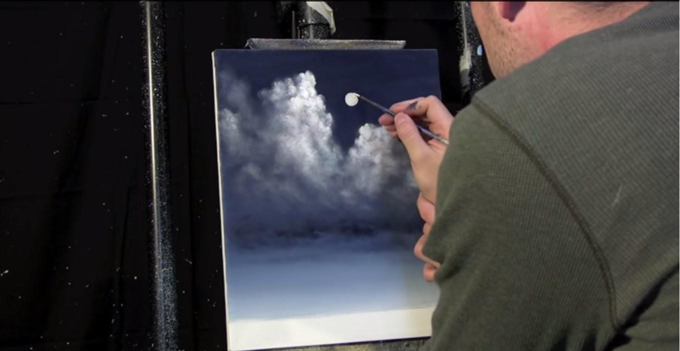 Come dipingere il cielo con effetti realistici colori tempesta
