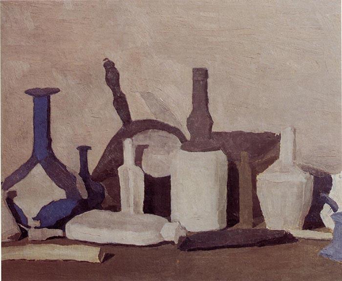 Giorgio Morandi: Natura morta Olio su tela 61,8 x 76,3 cm, 1937. Credit line: Firenze, Fondazione di Studi di Storia dell'Arte Roberto Longhi