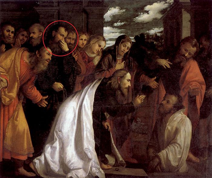 Girolamo Romanino, Resurrezione di Lazzaro