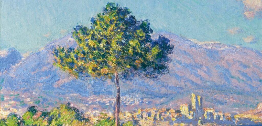 monet antibes albero