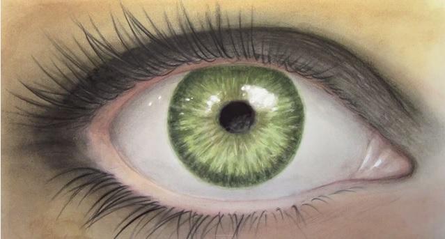 Tutorial come dipingere un occhio realistico stile arte for Immagini teschi disegnati