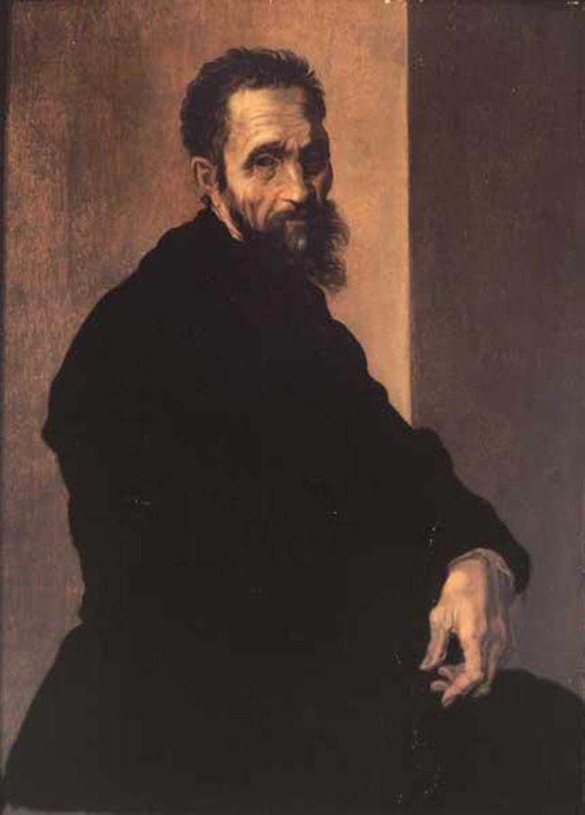 """""""Sezione I - Ritratto di un genio"""" Jacopino del Conte: Ritratto di Michelangelo, 1535 circa"""
