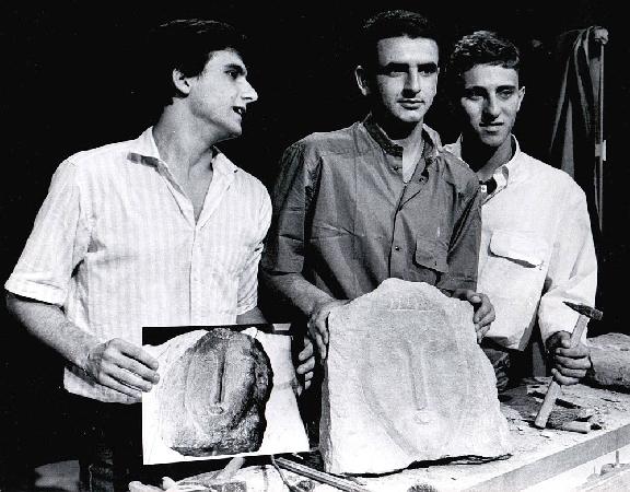 Gli studenti che nel 1984 produssero le false teste di Modigliani