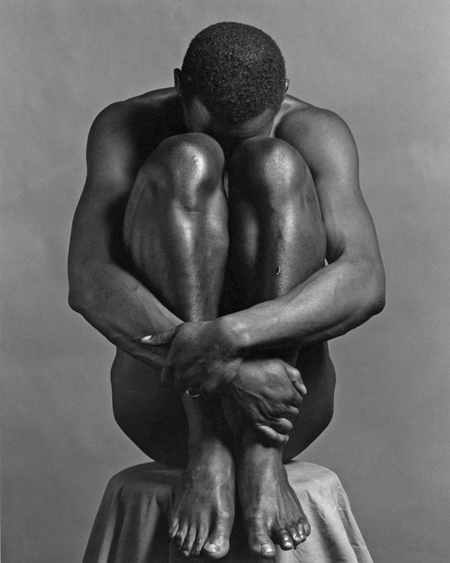 Robert Mapplethorpe, Ajitto, 1981, stampa alla gelatina d'argento / Gelatin Silver Print, MAP#541, All Mapplethorpe Works © Robert Mapplethorpe Foundation. Used by permission.