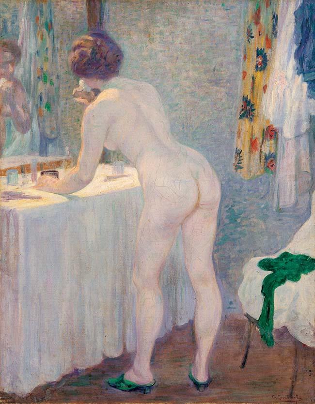 Camillo Innocenti, Alla toilette
