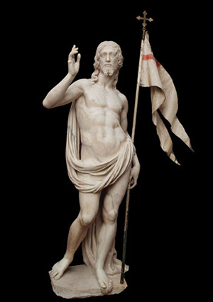Antonio Novelli (Castelfranco di Sotto, Pisa 1599-Firenze 1662) Cristo risorto 1640-1641 Marmo Firenze, chiesa di San Marco