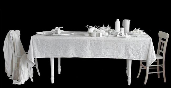 Giulio Orioli: West spirit's, installazione, cm 280x80x90, 2010