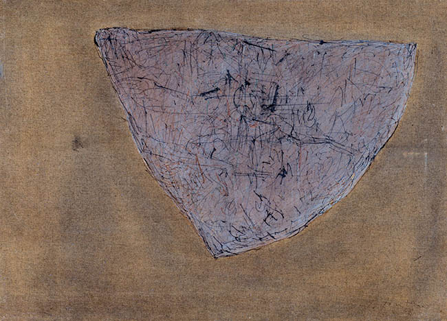 Lucio Fontana, Concetto spaziale, 1958