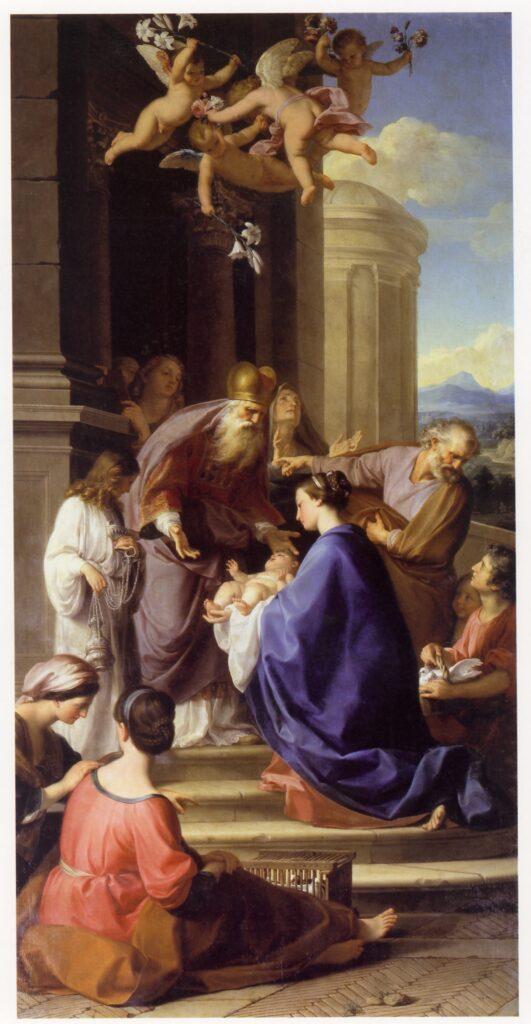 Pompeo Batoni, Presentazione al Tempio. Brescia, chiesa di Santa Maria della Pace
